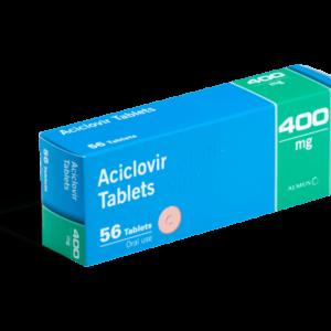 Aciclovir 500 mg 56 tabletten voorkant