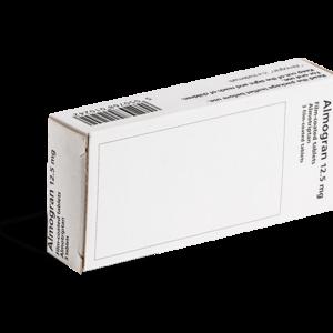 Almogran achterkant verpakking