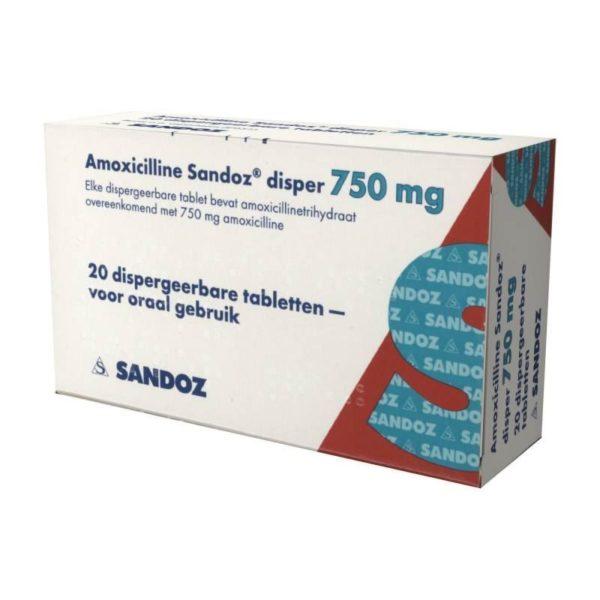 Amoxicilline 750mg