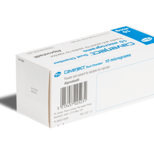 Caverject Dual Chamber 10 mg achterkant