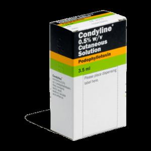 Condyline verpakking achterkant