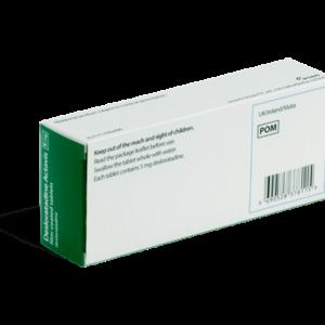 Desloratadine achterkant verpakking