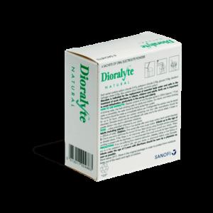 Dioralyte achterkant verpakking