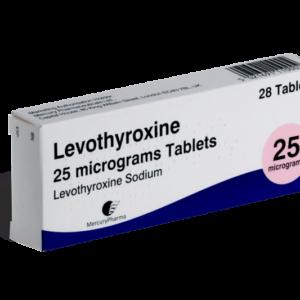 Levothyroxine 25 mcg voorkant