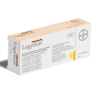 Logynon tabletten achterkant