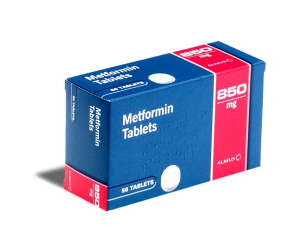 Metformine 850 mg