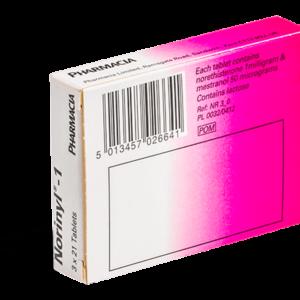 Norinyl-1 achterkant verpakking