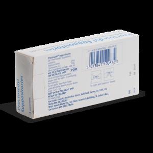 Proctosedyl achterkant verpakking