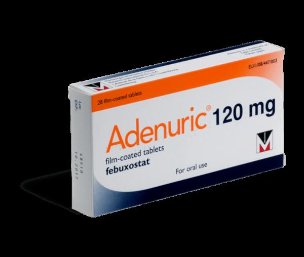 Adenuric 120 gram voorkant verpakking