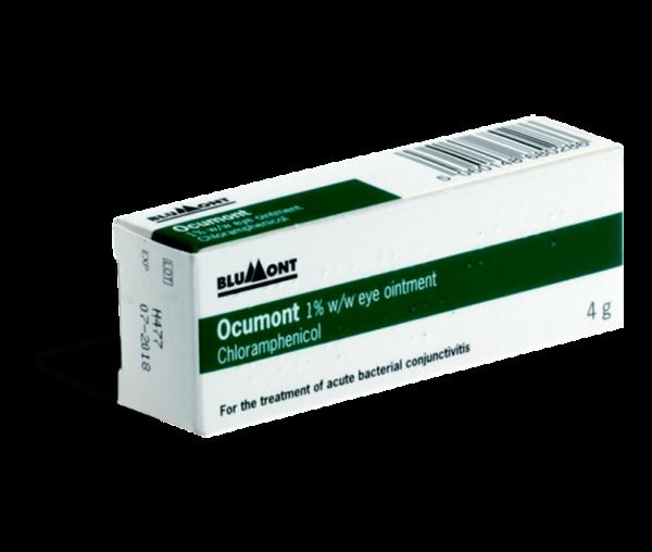 Chlooramfenicol zalf voorkant verpakking